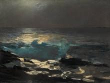Лунная ночь на море - Хомер, Уинслоу