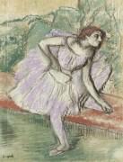 Танцовщица в фиолетовом, 1895-98 - Дега, Эдгар