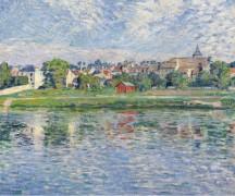 Лани, берега Марны, 1900 - Лебаск, Анри