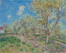 Весна в Венё - Сислей, Альфред