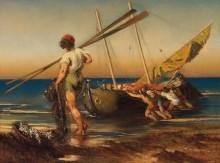 Неаполитанские рыбаки - Ромако, Антон