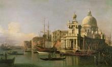 Догана и Санта-Мария-делла-Салюте - Каналетто (Джованни Антонио Каналь)