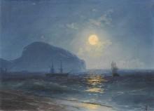 Море в лунном свете - Айвазовский, Иван Константинович