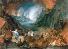 Юнона в загробном мире - Брейгель, Ян (младший)