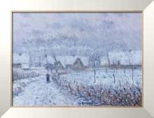 Ветер со снегом, 24 марта 1899 года, Сен-Сир-дю-Водрейль, 1899 - Луазо, Гюстав