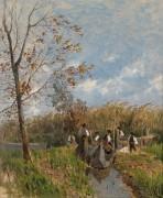 Сбор тростника - Хорман, Теодор фон