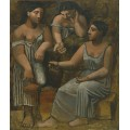 Три женщины в весеннее время - Пикассо, Пабло
