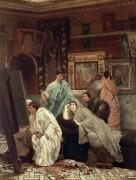 Коллекционеры живописи времен Августа - Альма-Тадема, Лоуренс