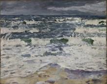 Пасмурный день в море - Бекман, Макс