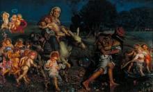 Триумф младенцев (Бегство в Египет) - Хант, Уильям Холман