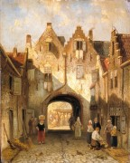 Старые городские ворота - Лейкерт, Шарль