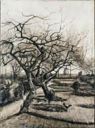 Сад приходского священника зимой (The Parsonage Garden at Nuenen in Winter), 1884 - Гог, Винсент ван