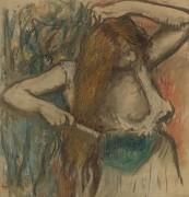 Расчесывающаяся женщина, 1894 - Дега, Эдгар