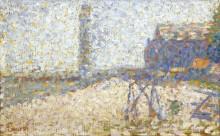 Хоспис и Маяк Онфлер, 1886 - Сёра, Жорж-Пьер