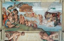 Всемирный потоп - Микеланджело Буонарроти