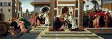 Последнее чудо и смерть святого Зиновия - Боттичелли, Сандро