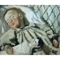 Портрет сына художника - Моне, Клод