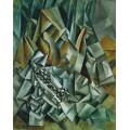 Натюрморт с бутылкой ликера - Пикассо, Пабло