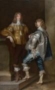 Лорд Джон Стюарт и его брат, лорд Бернард Стюарт - Дейк, Антонис Ван