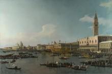 Венеция - бассейн Сан-Марко на Вознесение - Каналетто (Джованни Антонио Каналь)