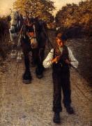 Молодой рабочий. 1900 - Ла Танге, Генри