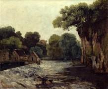 Плотины на Лу - Курбе, Гюстав