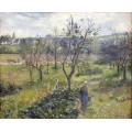 Сад в Валерме, 1880 - Писсарро, Камиль