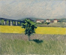 Лужайка возле моста Аржантей, 1882-86 - Кайботт, Густав