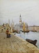 Вид на Сан-Джорджо Маджоре с набережной Дзаттере - Аллингем, Хелен