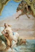 Роланд спасает Анжелику от дракона - Тьеполо, Джованни Баттиста