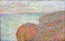 Меловые скалы близ Дьеппа - Моне, Клод