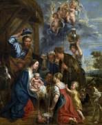 Поклонение пастухов - Йорданс, Якоб