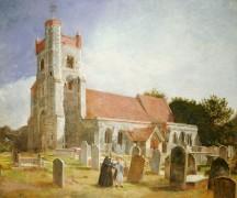 Старинная церковь - Хант, Уильям Холман