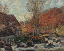 Водяная мельницаl, 1893 - Гийомен, Арманд