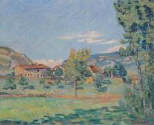 берега реки Эйн,  1890 - Гийомен, Арманд