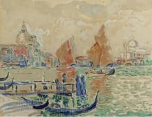 Пейзаж в Венеции, 1904 - Синьяк, Поль