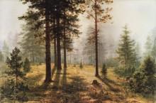 Туман в лесу, 1890-е - Шишкин, Иван Иванович