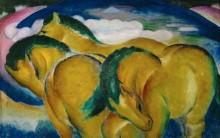 Три лошади - Марк, Франц