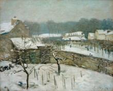 Снегопад в Марли - Сислей, Альфред