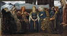 Гудрун с телом Сигурда (Эдда) - Слот-Мёллер, Агнес