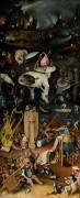 Сад земных наслаждений, правая створка - Ад - Босх, Иероним (Ерун Антонисон ван Акен)
