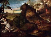 Орфей и Эвридика - Тициан Вечеллио
