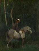 Месье Пиво верхом на коне - Коро, Жан-Батист Камиль
