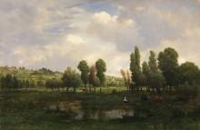 Пейзаж в Кото-де-Мелен - Руссо, Теодор