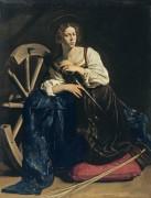 Святая Екатерина Александрийская - Караваджо, Микеланджело Меризи да