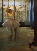 Танцовщица позируют для фотографа,1878 - Дега, Эдгар