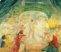 Театр масок, 1908 - Энсор, Джеймс