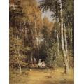 Березовая роща, 1878 - Шишкин, Иван Иванович