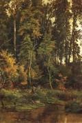К осени, 1880 - Шишкин, Иван Иванович