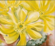Желтый цветок кактуса - О'Кифф, Джорджия